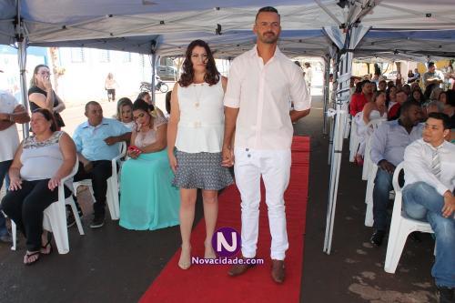 Devanir Carlos da Cruz e Elaine Cristina Poiani-casamento