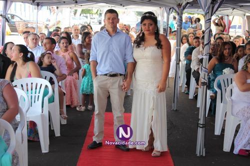 Fábio Rodrigo Pontes e Joseléia Aparecida Sousa-casamento
