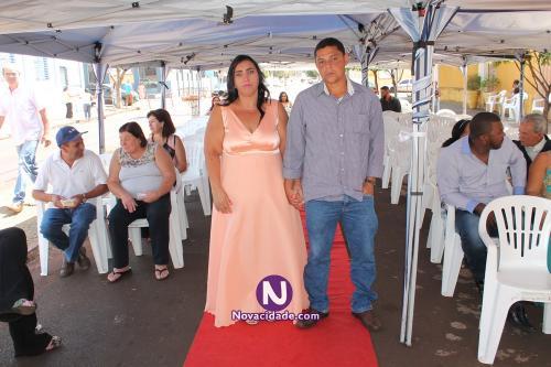 João Pereira dos Santos Neto e Rosineire Guiotto-casamento