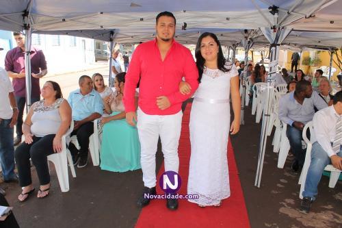 Ruan César Razanauskas e Carolina Silva Morais-casamento