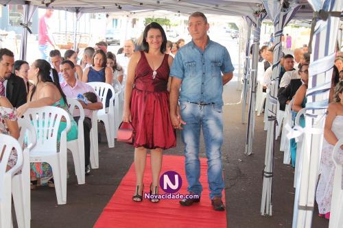 Wilson Cortez e Maria Cristina Pontes-casamento
